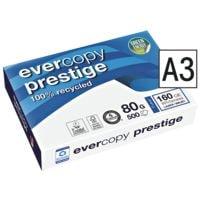 Papier recyclé A3 Clairefontaine Everycopy Prestige - 500 feuilles au total
