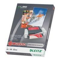 LEITZ 100 pièce(s) Pochettes de plastification iLAM Pouch 7483 A4 175 µ