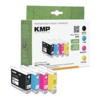 KMP Lot de cartouches équivalent Brother « LC-1000BK/C/M/Y »