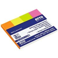 OTTO Office marque-page repositionnables Standard 50 x 15 mm, papier