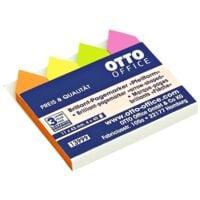 OTTO Office marque-page repositionnables en forme de flèche 43 x 11 mm, papier