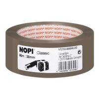 ruban adhésif d'emballage Nopi Classic, 38 mm de large, 66 m de longueur