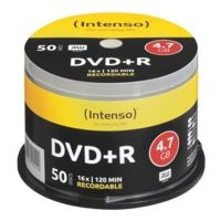 Intenso DVD vierges « DVD+R » 50 pièces