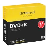 Intenso DVD vierges « DVD+R » 10 pièces