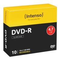 Intenso DVD vierges « DVD-R » 10 pièces