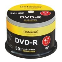 Intenso DVD vierges « DVD-R » 50 pièces