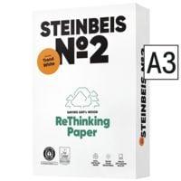 Papier recyclé A3 Steinbeis Trend White - 500 feuilles au total