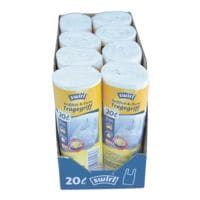 Swirl sacs poubelle 20 L transparent - 160 pièce(s)