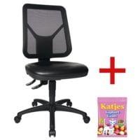Topstar Chaise / Siège de bureau pivotant(e) « TEC 80 PK Counter » sans accoudoirs avec bonbons gélifiés « Joghurtgums »