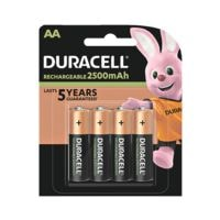 Duracell Piles rechargeables « Precharged » (4 pièces - 2500 mAh)