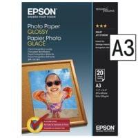 Epson Papier photo « Photo Paper Glossy » (A4 - 20 feuilles)