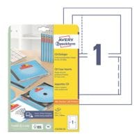 Avery Zweckform Paquet de 25 jaquettes CD « C32250-25 »