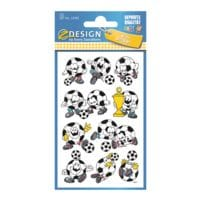 ZDesign Autocollants papier « Ballons de football »