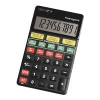 GENIE Calculatrice de poche « Génie de la finance »