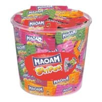 MAOAM Bonbons à mâcher « Stripes »