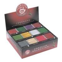 TEEKANNE Boîte de thé « Premium Selection » portion pour tasses, enveloppe aromatique, paquet de 180