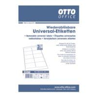 OTTO Office Lot de 250 étiquettes universelles