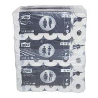 Tork papier toilette Advanced 3 épaisseurs, blanc - 60 rouleaux (6 paquets de 10 rouleaux)