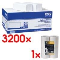 OTTO Office Essuie-mains papier avec rouleaux d'essuie-tout