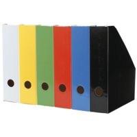 Landré Porte-revues en carton « Color » mince 1005521