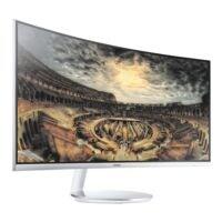 Samsung C34F791 LED affichage publicitaire, 86,4 cm (34''), QHD, HDMI, DisplayPort, USB, Fiche 3,5 mm