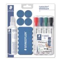 STAEDTLER Lot marqueurs tableau blanc « Lumocolor 613 S »