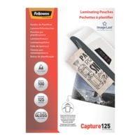 Fellowes 100 pièce(s) Pochettes de plastification Laminating Pouches A4 125 µ