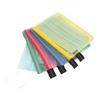Foldersys Pochette pour masque à fermeture éclair A6 « Fresh Colour »