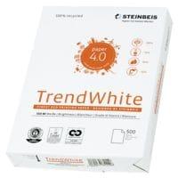 Papier recyclé A4 Steinbeis Trend White - 500 feuilles au total