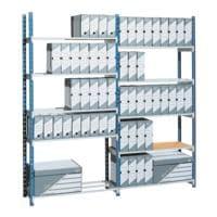 Paperflow Système d'étagères emboîtables « Rang'Eco » rayonnage initial 5 étagères