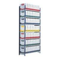 Paperflow Système d'étagères emboîtables « Rang'Eco » rayonnage 7 étagères