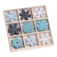 Boîte feutrines « ornements cristaux de glace »