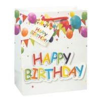 TSI 3 pochettes cadeau « Ballons »