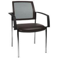 Topstar Lot de 2 chaises empilables « BtoB 10 » Softex