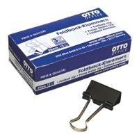 OTTO Office Pinces double clip 25mm, noires, 12 pièces