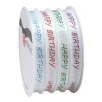 PRÄSENT Rubans cadeaux « Happy Birthday »