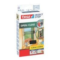 tesa Moustiquaire à ouvrir ou fermer « Insect Stop OPEN / CLOSE » 130x150 cm 55033