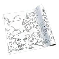 Rouleau de papier à dessin créatif « ferme »