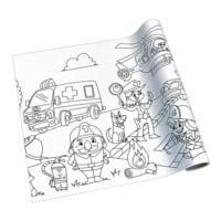 Rouleau de papier à dessin créatif « sauveteur »