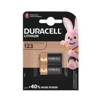 Duracell Paquet de 2 piles photo « Photo Lithium Ultra » 123 / CR17345