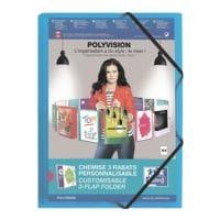 Oxford Chemise à élastiques A4 « polyvision »