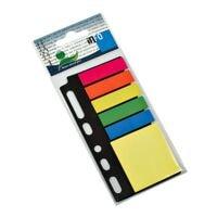 Folderset : marque-pages (4,4 x 1,2 cm) et notes repositionnables (5 x 4 cm)