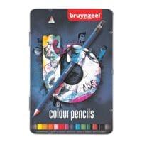 Bruynzeel Paquet de 12 crayons de couleur « Dark »