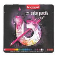 Bruynzeel Paquet de 24 crayons de couleur « Light »