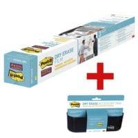 Post-it Film Dry Erase « DEF3x2-EU » avec corbeille de rangement « DEFTRAY-EU »