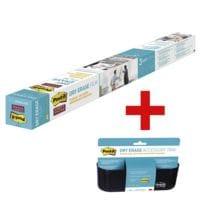 Post-it Film Dry Erase « DEF8X4-EU » avec corbeille de rangement « DEFTRAY-EU »