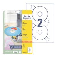 Avery Zweckform Paquet de 50 étiquettes CD/DVD « L6043-25 »