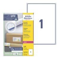 Avery Zweckform Paquet de 100 étiquettes d'expédition avec ultragrip « L7167-100 »