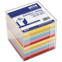 OTTO Office Bloc cube avec feuillets colorés