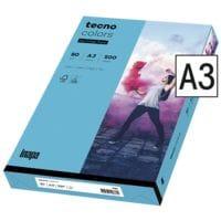 Papier couleur A3 Inapa tecno Rainbow - tecno Colors - 500 feuilles au total